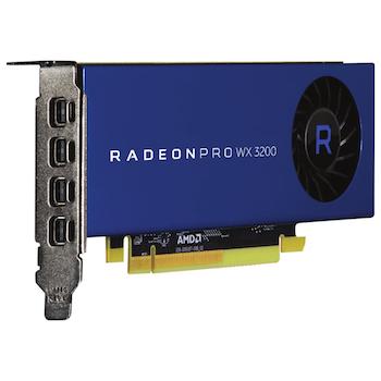 Product image of AMD Radeon Pro WX 3200 4GB GDDR5 - Click for product page of AMD Radeon Pro WX 3200 4GB GDDR5