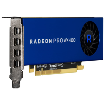 Product image of AMD Radeon Pro WX 4100 4GB GDDR5 - Click for product page of AMD Radeon Pro WX 4100 4GB GDDR5
