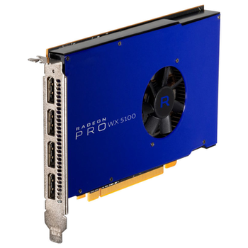 Product image of AMD Radeon Pro WX 5100 8GB GDDR5 - Click for product page of AMD Radeon Pro WX 5100 8GB GDDR5