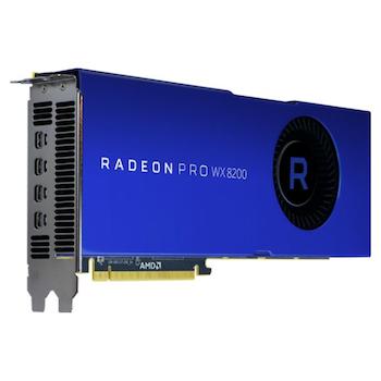 Product image of AMD Radeon Pro WX 8200 8GB HDM2 - Click for product page of AMD Radeon Pro WX 8200 8GB HDM2