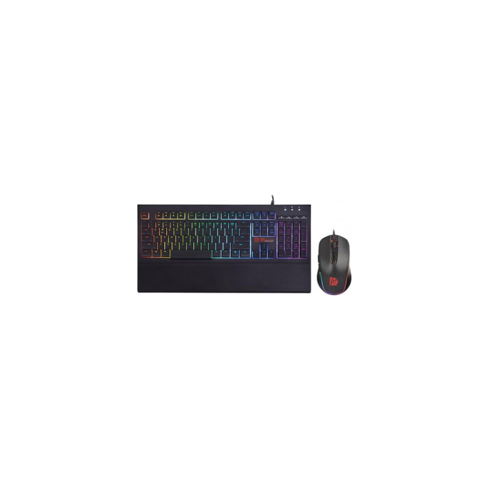 A large main feature product image of Thermaltake Challenger Elite RGB Gaming Keyboard & Mouse Combo