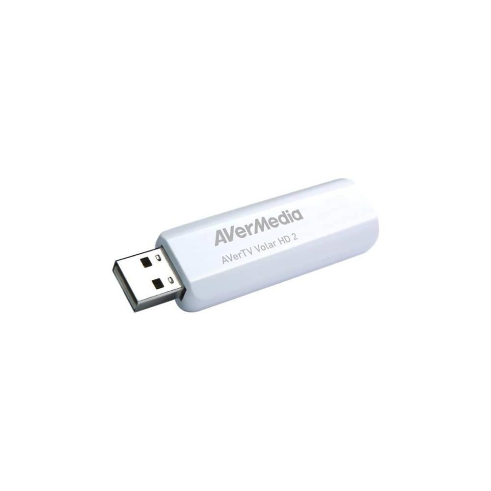 A large main feature product image of AVerMedia TD110 AverTV Volar HD 2 USB TV Tuner