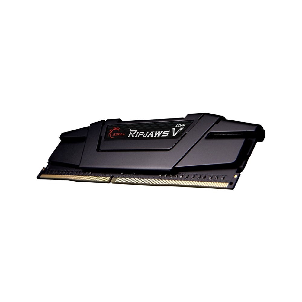 A large main feature product image of G.Skill 32GB Single DDR4 Ripjaws V C18 2666Mhz