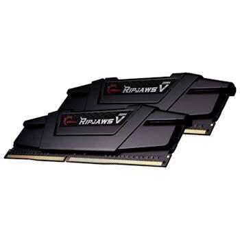 Product image of G.Skill 64GB (2x32GB) DDR4 Ripjaws V C18 2666Mhz - Click for product page of G.Skill 64GB (2x32GB) DDR4 Ripjaws V C18 2666Mhz