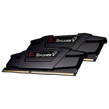 Product image of G.Skill 64GB (2x32GB) DDR4 Ripjaws V C16 3200Mhz - Click for product page of G.Skill 64GB (2x32GB) DDR4 Ripjaws V C16 3200Mhz