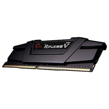 Product image of G.Skill 128GB (4x32GB) DDR4 Ripjaws V C16 3200Mhz - Click for product page of G.Skill 128GB (4x32GB) DDR4 Ripjaws V C16 3200Mhz