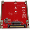A small tile product image of Startech M.2 to U.2 (SFF-8639) Adapter for M.2 PCIe NVMe SSDs