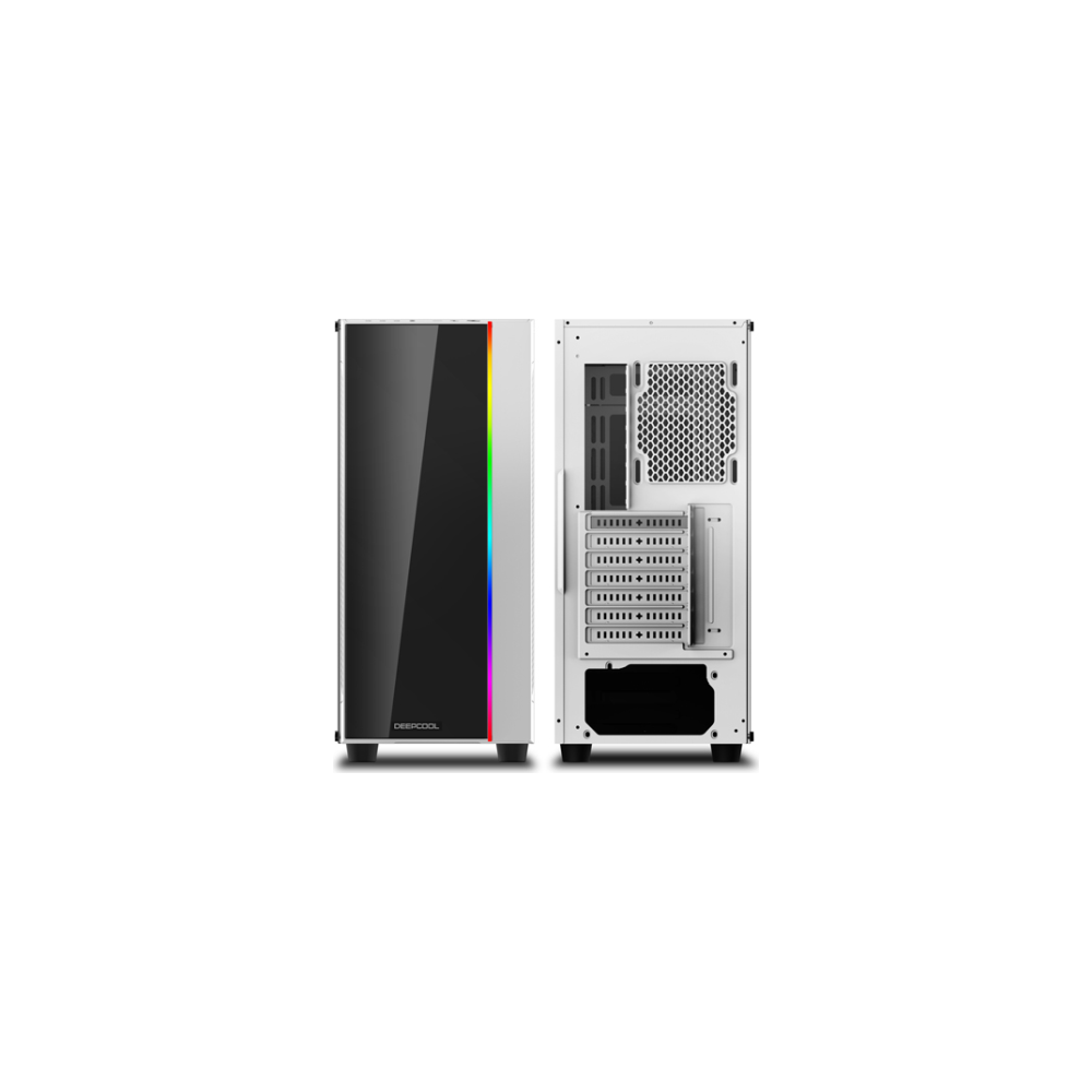 A large main feature product image of Deepcool Matrexx 55 Addressable RGB Mid Tower White Case