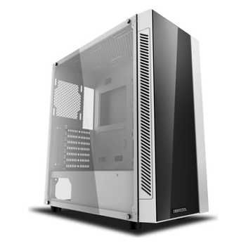 Product image of Deepcool Matrexx 55 Addressable RGB Mid Tower White Case - Click for product page of Deepcool Matrexx 55 Addressable RGB Mid Tower White Case