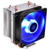 A product image of ID-COOLING Sweden Series SE-913-B PWM Blue LED CPU Cooler