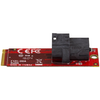 A product image of Startech U.2 to M.2 Adapter for U.2 NVMe SSD - M.2 PCIe x4 Host