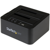 """A product image of Startech USB3.1 HDD Cloner and Dock for 2.5""""/3.5"""" SATA SSD/HDD"""
