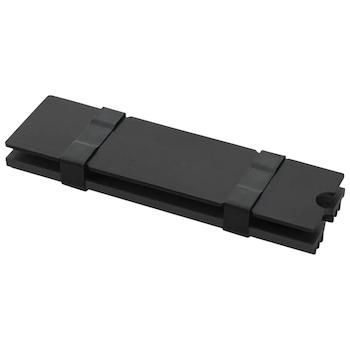 Product image of EK M.2 NVMe Heatsink - Black - Click for product page of EK M.2 NVMe Heatsink - Black