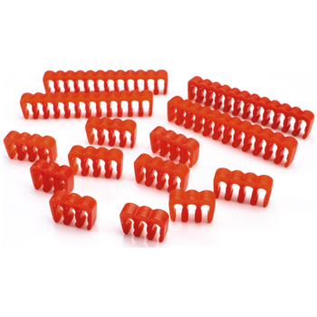 Product image of GamerChief Cable Comb Set ABS - Red - Click for product page of GamerChief Cable Comb Set ABS - Red