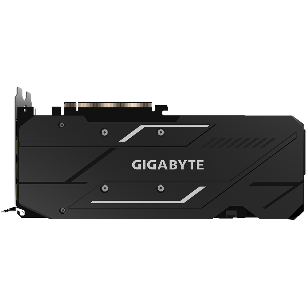 A large main feature product image of Gigabyte Radeon RX 5500 XT GAMING OC 4GB GDDR6