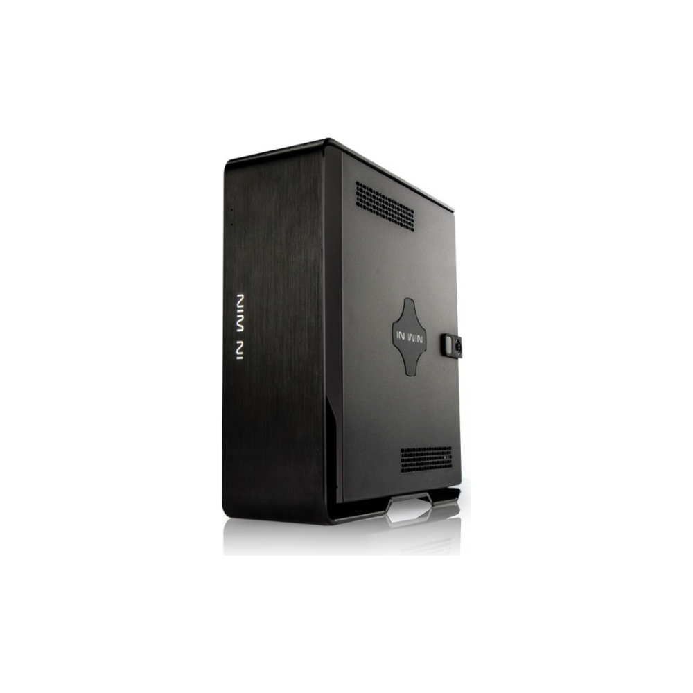 A large main feature product image of InWin Chopin mITX Case w/ 150W 80Plus Bronze Power Supply