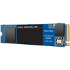 A product image of WD Blue SN550 500GB NVMe M.2 SSD