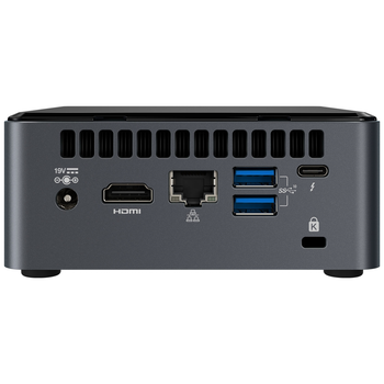 """Product image of Intel NUC Gen10 Frost Canyon i7 Barebones Mini PC w/2.5"""" Drive Bay - Click for product page of Intel NUC Gen10 Frost Canyon i7 Barebones Mini PC w/2.5"""" Drive Bay"""