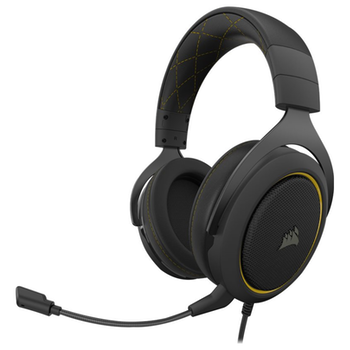 Product image of Corsair Gaming HS60 PRO SURROUND Yellow Gaming Headset - Click for product page of Corsair Gaming HS60 PRO SURROUND Yellow Gaming Headset