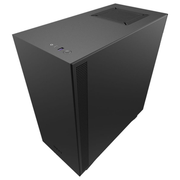 Product image of NZXT H510i Matte Black Smart Mid Tower Case w/Tempered Glass Side Panel - Click for product page of NZXT H510i Matte Black Smart Mid Tower Case w/Tempered Glass Side Panel