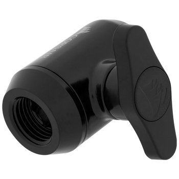 Product image of Corsair Hydro X Series XF AF Black Ball Valve (G1/4) - Click for product page of Corsair Hydro X Series XF AF Black Ball Valve (G1/4)