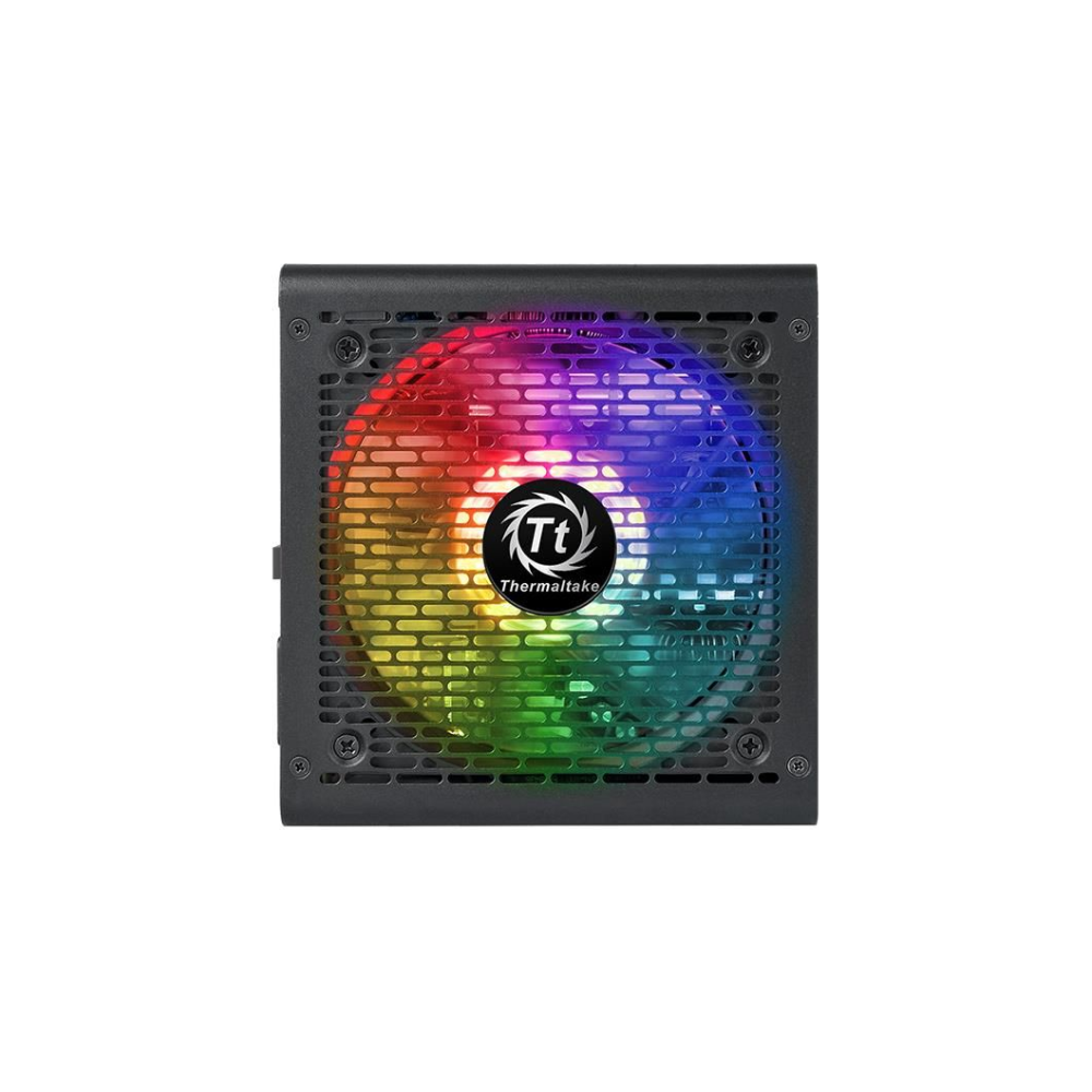 A large main feature product image of Thermaltake Toughpower GX1 RGB 500w 80Plus Gold Power Supply