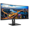 """A small tile product image of Philips 346B1C 34"""" WQHD 5MS Curved VA LED Monitor"""
