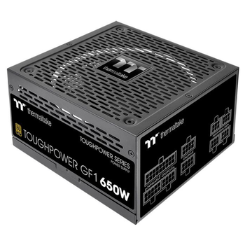 Product image of Thermaltake Toughpower GF1 650w 80Plus Gold Power Supply - Click for product page of Thermaltake Toughpower GF1 650w 80Plus Gold Power Supply