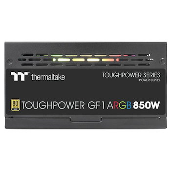 Product image of Thermaltake Toughpower GF1 ARGB 850w 80Plus Gold Modular Power Supply - Click for product page of Thermaltake Toughpower GF1 ARGB 850w 80Plus Gold Modular Power Supply