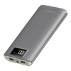 A product image of XiPin S12 11000mAh 5v 2A Power Bank w/ LCD Display - Grey