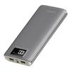 A product image of XiPin S12 Super 20000mAh 5v 2A Power Bank w/ LCD Display - Grey