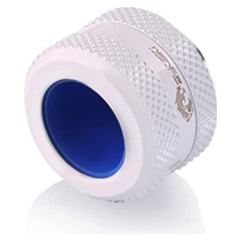 Product image of Bykski G1/4 16mm Hard Tube Compression Fitting - White - Click for product page of Bykski G1/4 16mm Hard Tube Compression Fitting - White