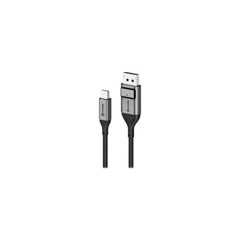 A large main feature product image of ALOGIC Ultra 8K Mini Displayport to DisplayPort V1.4 Cable - 2m