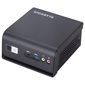 """Product image of Gigabyte Brix Pentium Barebones Mini PC w/2.5"""" Drive Bay - Click for product page of Gigabyte Brix Pentium Barebones Mini PC w/2.5"""" Drive Bay"""