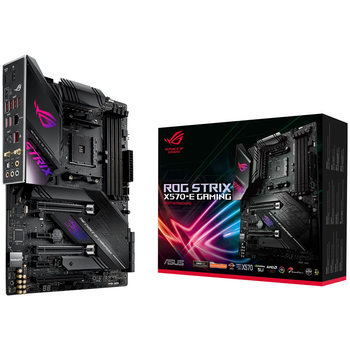 Product image of ASUS ROG Strix X570-E Gaming AM4 ATX Desktop Motherboard - Click for product page of ASUS ROG Strix X570-E Gaming AM4 ATX Desktop Motherboard