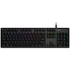 A product image of Logitech G512 Carbon RGB Mechanical Gaming Keyboard (Clicky Switch)