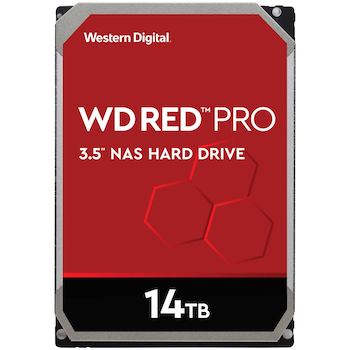 "Product image of WD Red Pro WD141KFGX 3.5"" 14TB 256MB 7200RPM NAS HDD - Click for product page of WD Red Pro WD141KFGX 3.5"" 14TB 256MB 7200RPM NAS HDD"