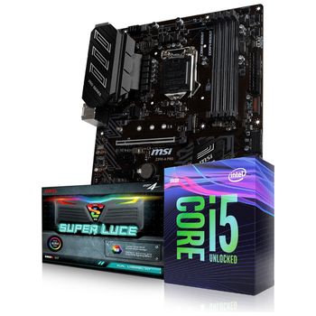 Product image of Intel 9th Gen Unlocked Gaming Starter Bundle - Click for product page of Intel 9th Gen Unlocked Gaming Starter Bundle