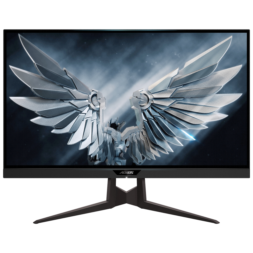 "A large main feature product image of Gigabyte Aorus FI27Q-P 27"" WQHD G-SYNC-C 165Hz HB3 1MS HDR400 IPS LED Gaming Monitor"