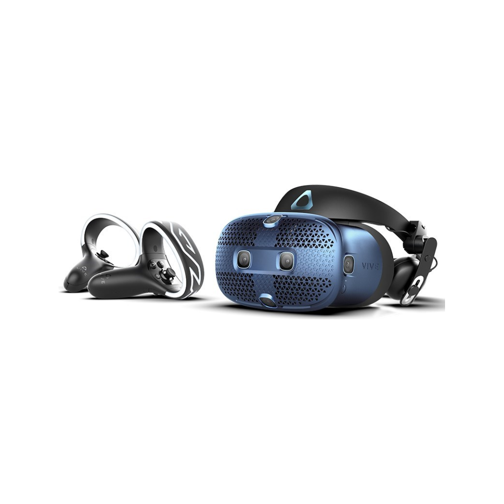 A large main feature product image of HTC VIVE Cosmos VR Headset Kit