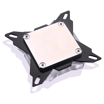 Product image of Bykski Butterfly RBW Acrylic CPU Waterblock - Click for product page of Bykski Butterfly RBW Acrylic CPU Waterblock