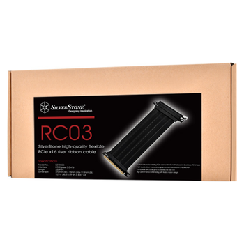 Product image of SilverStone PCI Express 3.0 Riser Cable - Click for product page of SilverStone PCI Express 3.0 Riser Cable