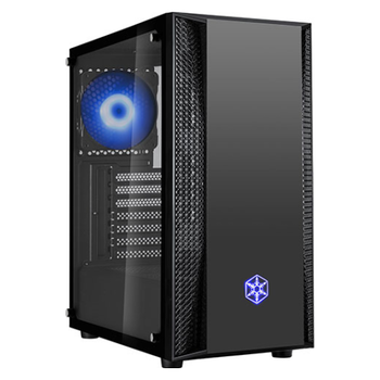 Product image of SilverStone FARA B1 RGB Mid Tower Chassis w/Tempered Glass Side Panel - Click for product page of SilverStone FARA B1 RGB Mid Tower Chassis w/Tempered Glass Side Panel