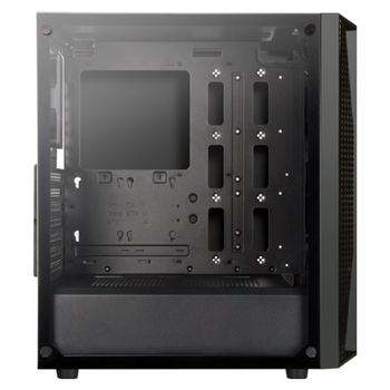 Product image of SilverStone FARA B1 Mid Tower Case w/Tempered Glass Side Panel - Click for product page of SilverStone FARA B1 Mid Tower Case w/Tempered Glass Side Panel