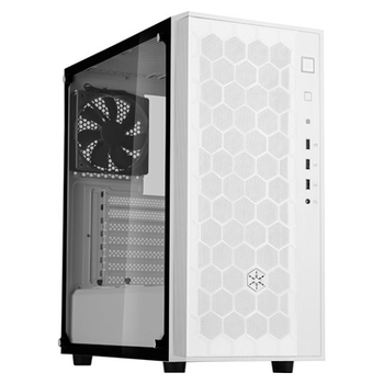Product image of SilverStone FARA R1 White Mid Tower Case w/Tempered Glass Side Panel - Click for product page of SilverStone FARA R1 White Mid Tower Case w/Tempered Glass Side Panel