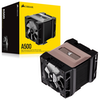 A product image of Corsair A500 High Performance Dual Fan CPU Cooler