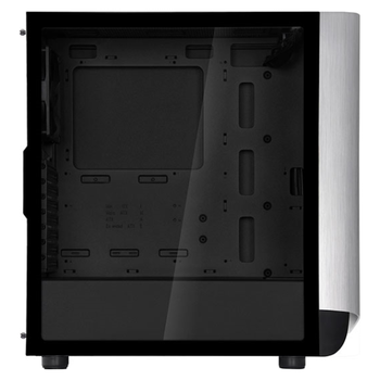 Product image of SilverStone SETA A1 Titanium Mid Tower Case w/Tempered Glass Side Panel - Click for product page of SilverStone SETA A1 Titanium Mid Tower Case w/Tempered Glass Side Panel