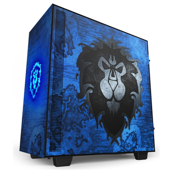 Product image of NZXT H510 World Of Warcraft Alliance Limited Edition Mid Tower Case - Click for product page of NZXT H510 World Of Warcraft Alliance Limited Edition Mid Tower Case