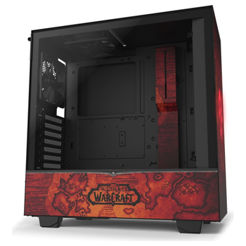 Product image of NZXT H510 World Of Warcraft Horde Limited Edition Mid Tower Case - Click for product page of NZXT H510 World Of Warcraft Horde Limited Edition Mid Tower Case