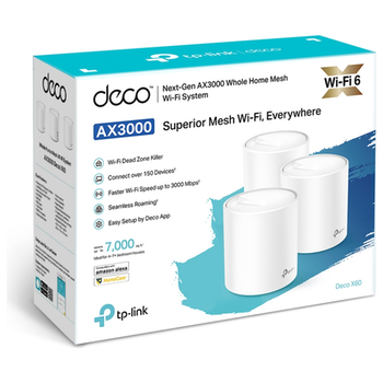 Product image of TP-LINK Deco X60 AX3000 Home Mesh Wireless System - Click for product page of TP-LINK Deco X60 AX3000 Home Mesh Wireless System